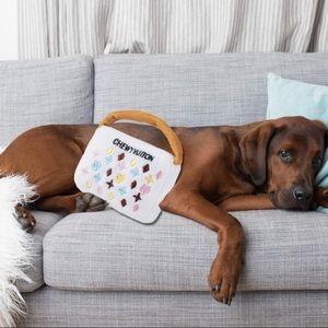 CHEWY VUITTON XL Plush Handbag Chew Toy